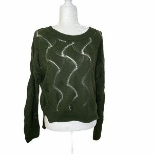 URBAN OUTFITTERS Staring At Stars Green Sweater S
